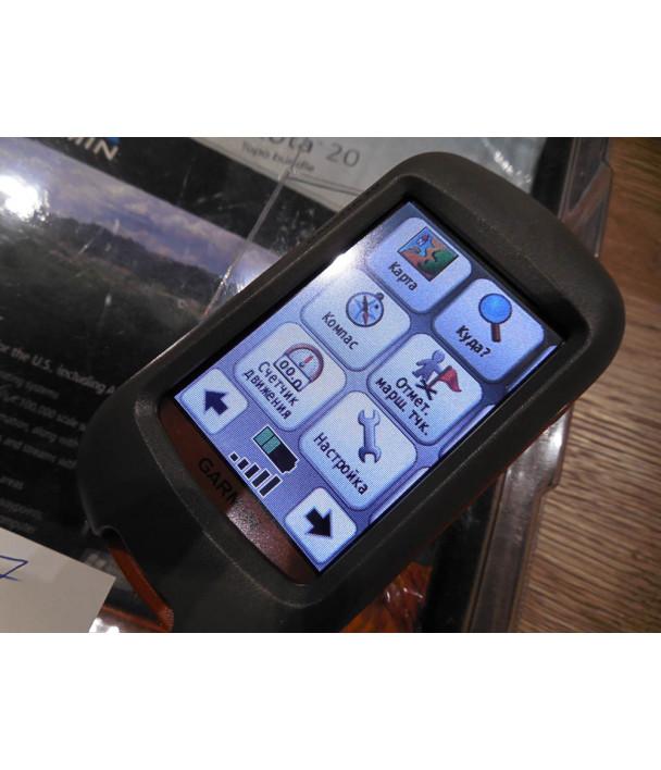 Garmin Dakota 20 GPS Навигатор новый полный комплект