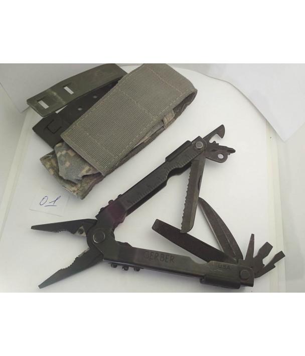 Gerber MP600 Black Мультитул б/у вар.01 с чехлом камо