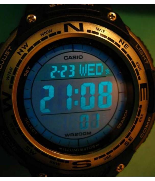 Casio SGW-100B-3V Часы с компасом и термометром