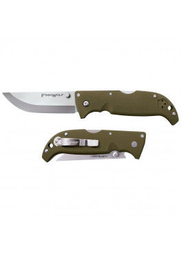 Cold Steel Finn Wolf OD Green  Нож складной