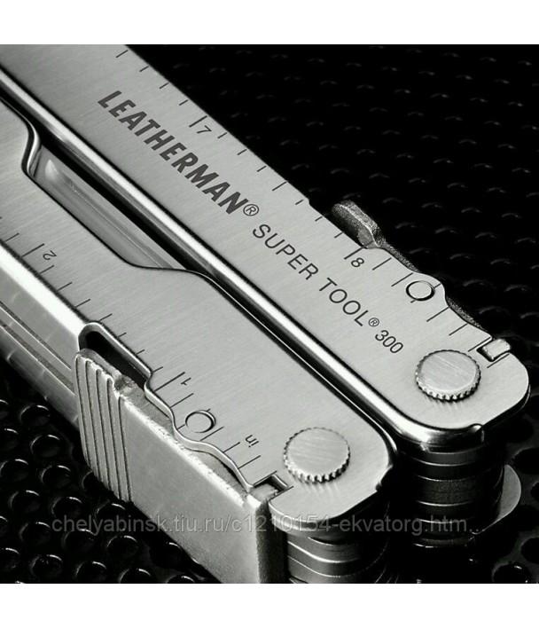 Leatherman Super Tool 300 Мультитул с чехлом