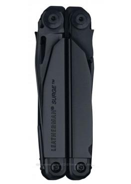 Leatherman Surge Black Мультитул с нейлоновым чехлом