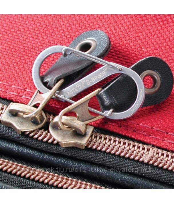 Карабин стальной Nite Ize S-Biner #1 черный
