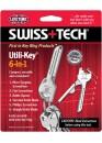Микротул Swiss+Tech Tools Utili-Key 6-In-1