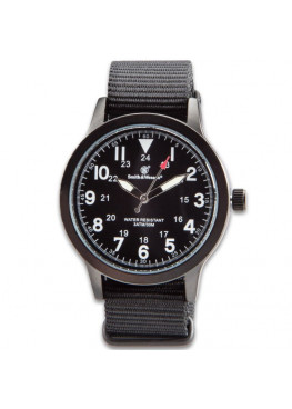 Smith & Wesson NATO Black Tactical Military Часы