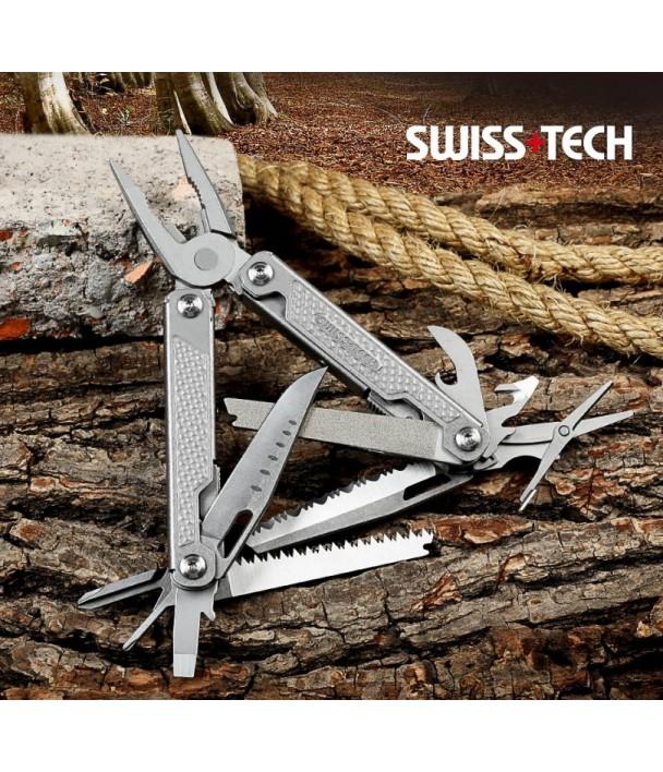Swiss+Tech Tools 17 в 1 Мультитул