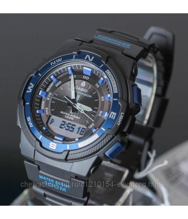 Casio SGW-500H-2B Часы с компасом и термометром