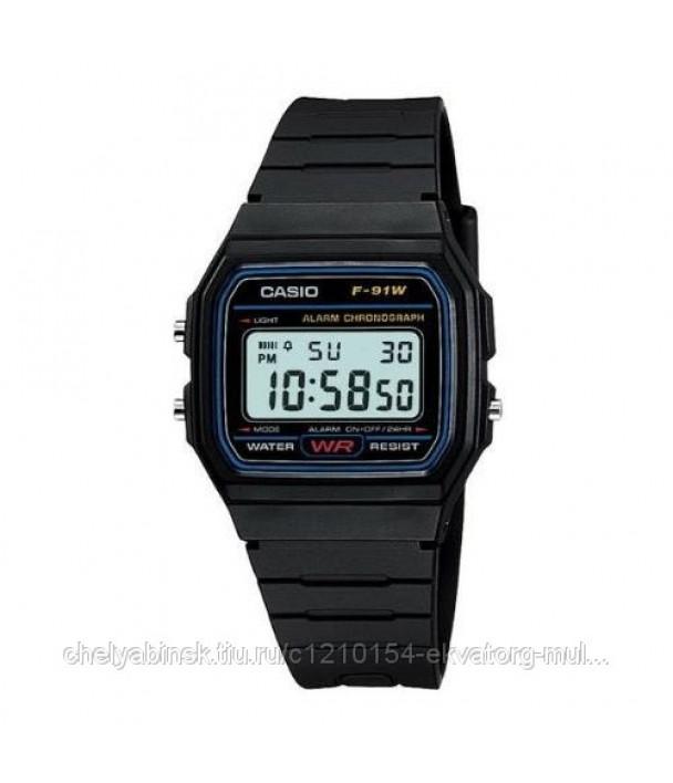 Casio F-91W-1 Часы